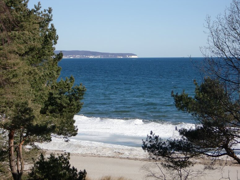 Blick auf die Ostsee aus der Villa Seeblick Binz