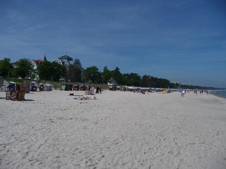 Der Strand von Binz