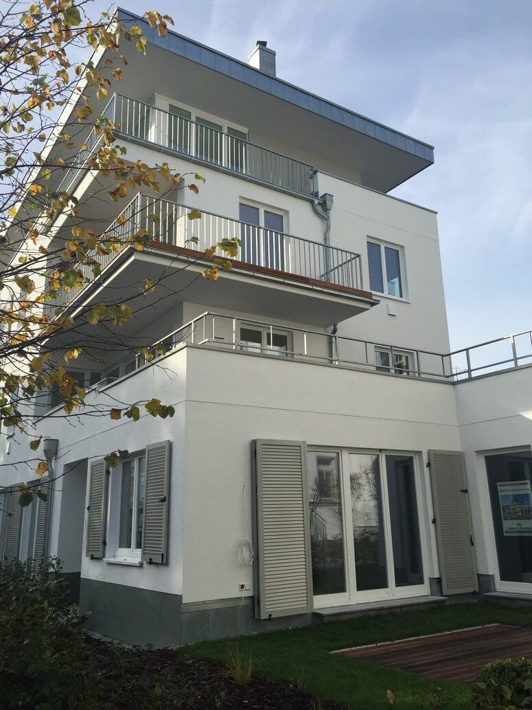 Strandhaus Seeblick Außenansicht