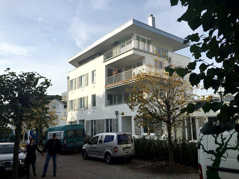 Ansicht Strandhaus Seeblick in Binz auf Rügen