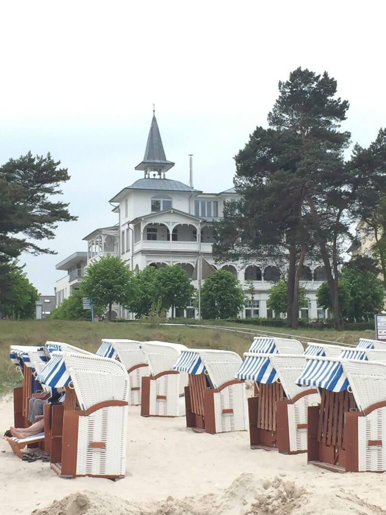Villa Seeblick mit direkter Strandlage