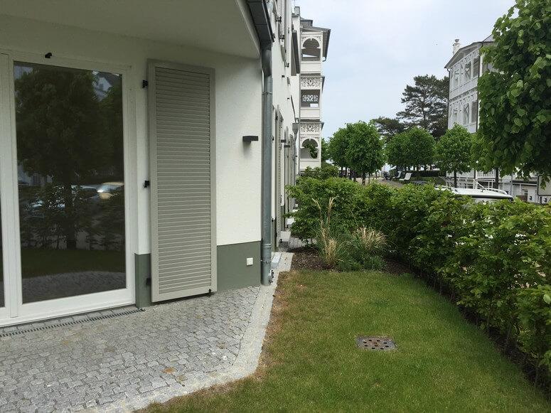 Whg. 13 Garten und Terrasse
