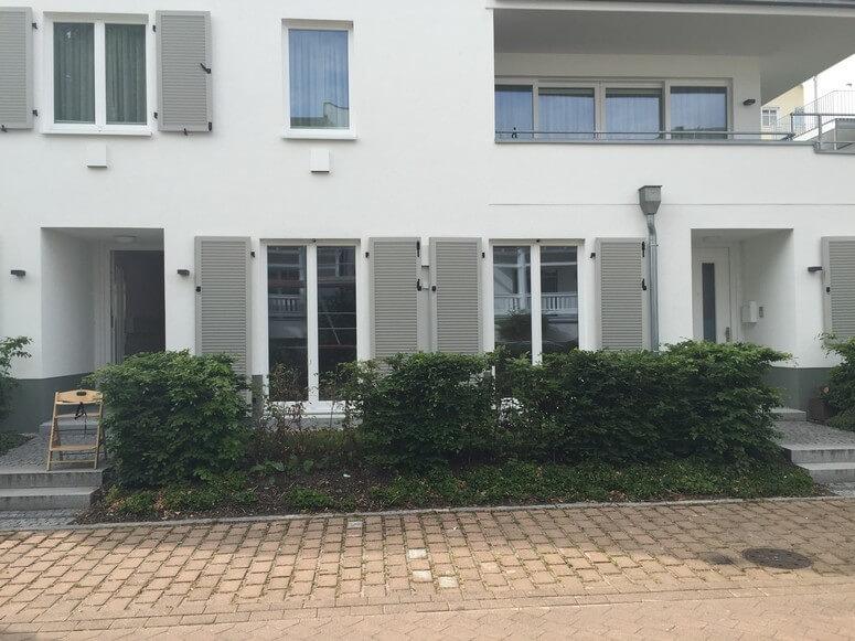 Wohnung 11 mit Vorgarten: Ansicht von Goethestraße